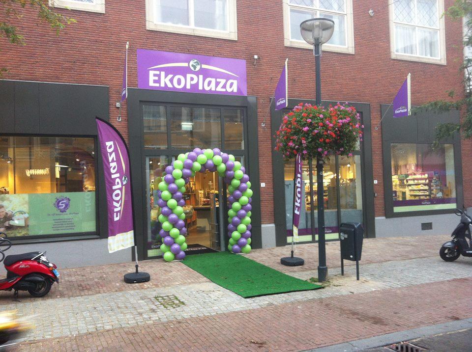 Een pand van partner Ekoplaza waar onze GeluksVogel producten verkregen kunnen worden